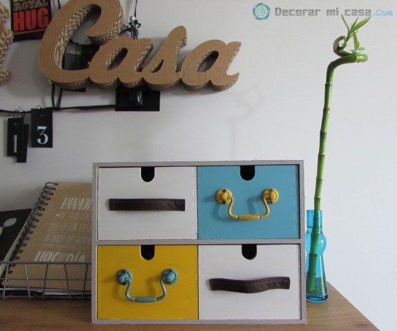 DIY para cambiar la minicómoda MOPPE de Ikea