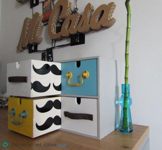 DIY Cajonera escritorio