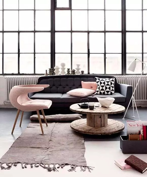 Decorar con rosa cuarzo, color Pantone del 2016