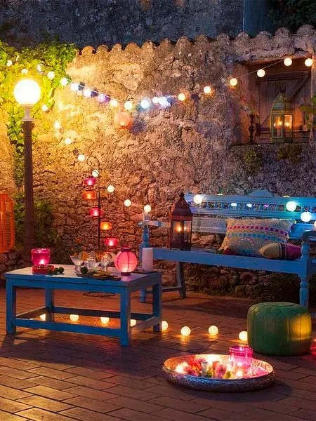 Ideas low cost para decorar fiestas en tu terraza
