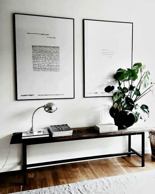 Cómo elegir muebles de entrada con diseño