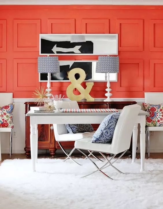 Pared coral