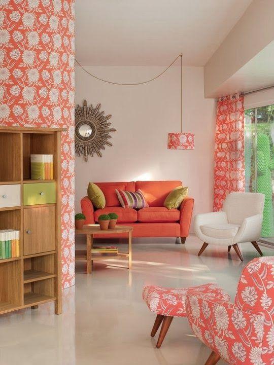 Color Pantone 2019: Living Coral