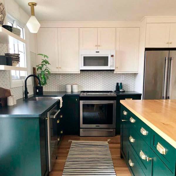 ¿Electrodomésticos blancos o metalizados para la cocina?