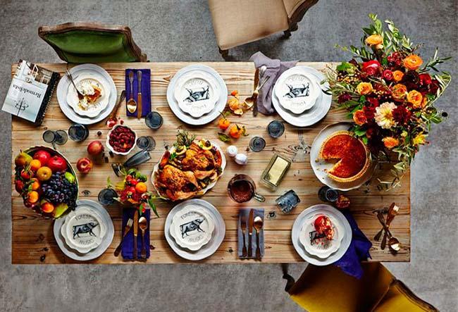 10 ideas para decorar la mesa en otoño