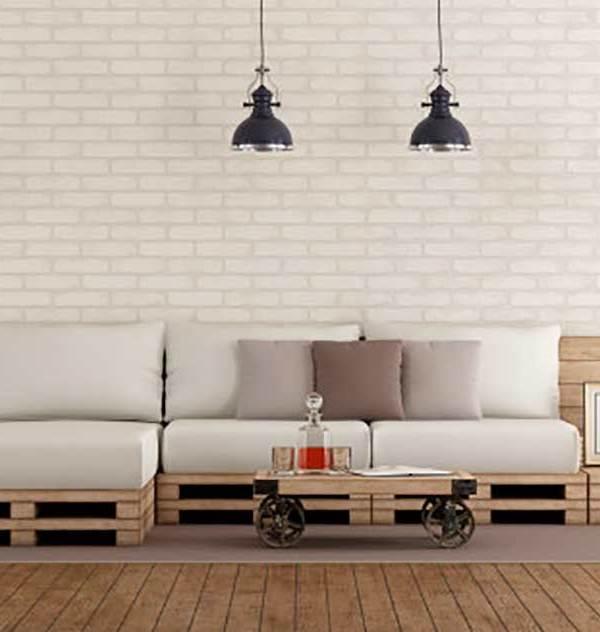 DIY: cómo hacer un sofá con palets