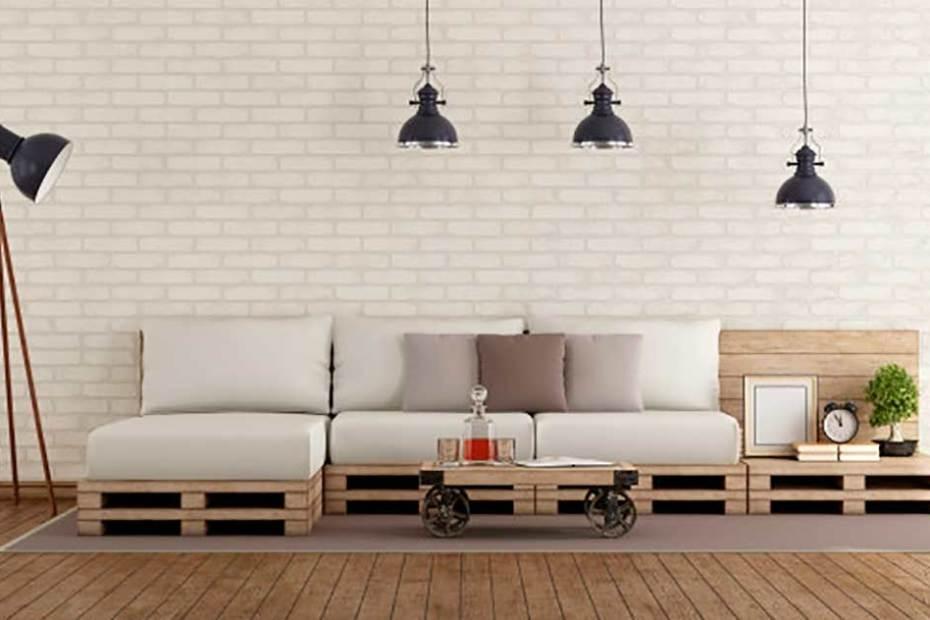 DIY para sofá de palets