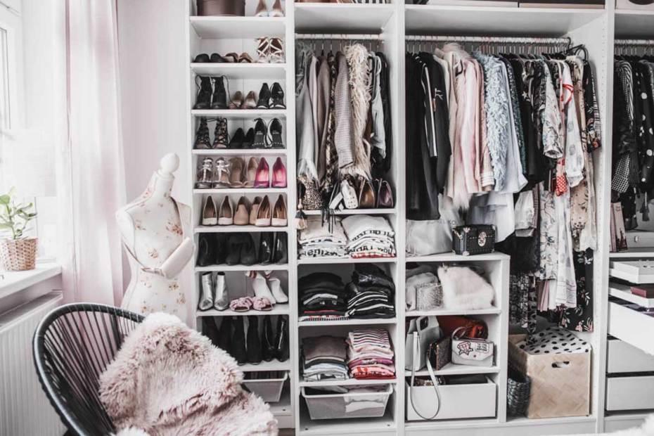 Decorar un vestidor