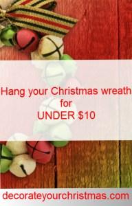 over the door Christmas wreather hangers