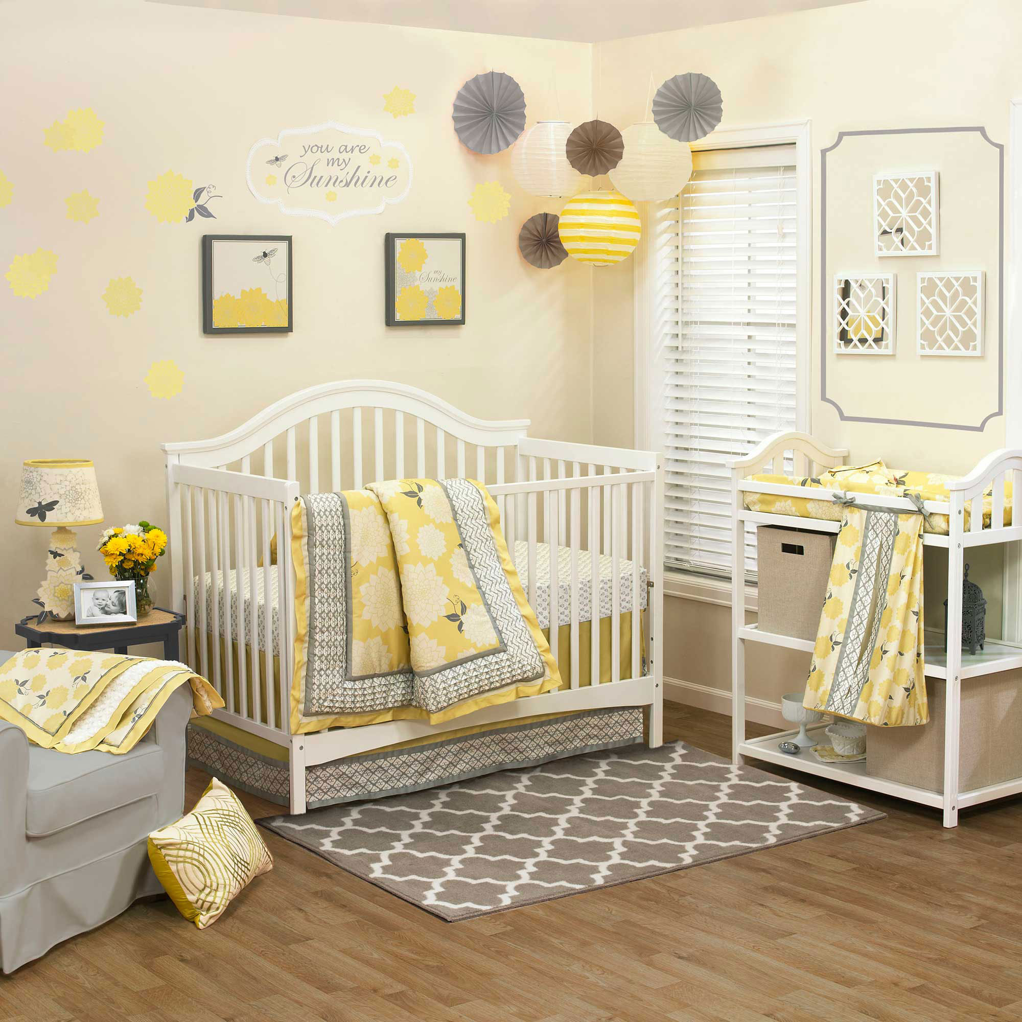 Baby Girl Nursery Ideas: 10 Pretty Examples - Decorating Room on Decoration For Girls Room  id=21296