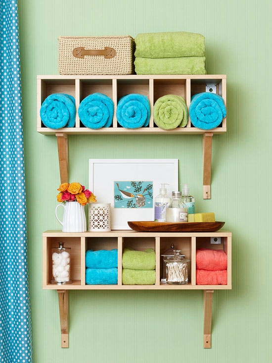 Small Bathroom Ideas & DIY Projects   Decorating Your ... on Small Space Small Bathroom Ideas Pinterest id=98326