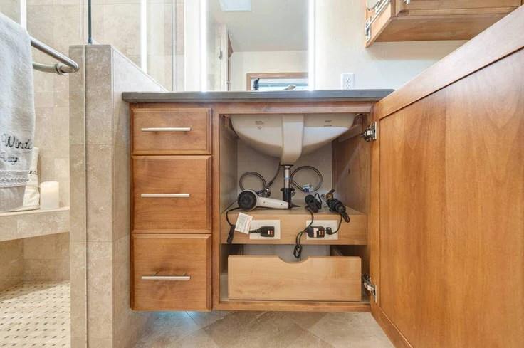 Small Bathroom Ideas & DIY Projects   Decorating Your ... on Small Space Small Bathroom Ideas Pinterest id=92802