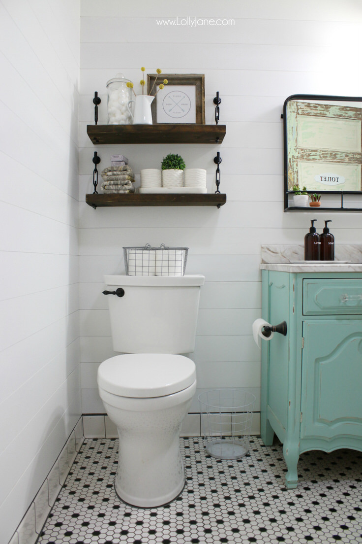 Small Bathroom Ideas & DIY Projects | Decorating Your ... on Bathroom Ideas For Small Space  id=43943
