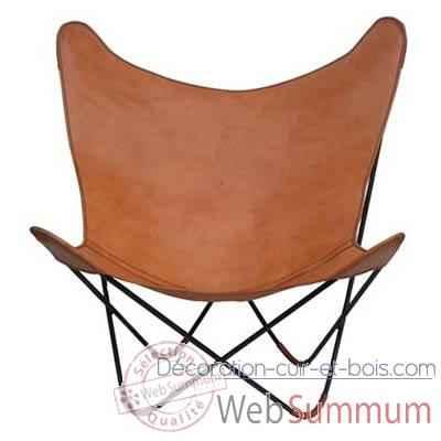 fauteuil dkf en toile sol luna pn915t