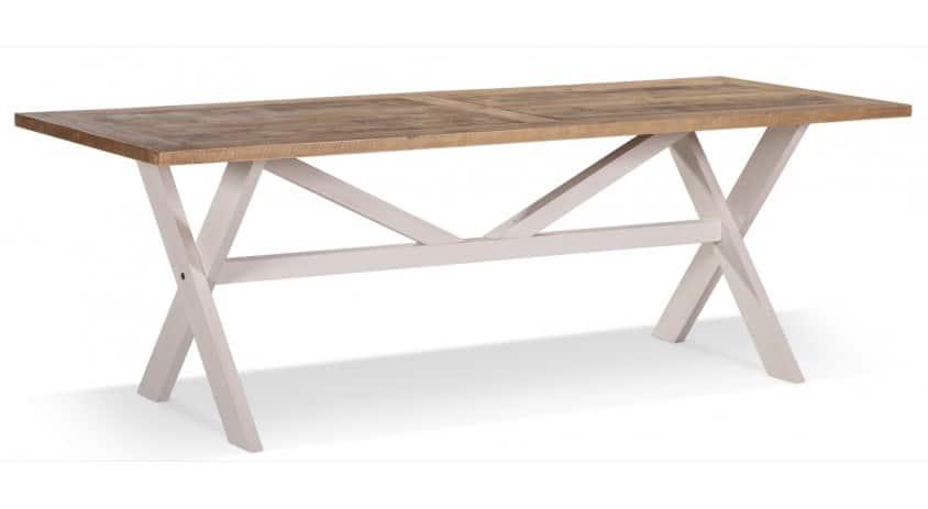 table bois blanc cesure 234x93 5x79cm