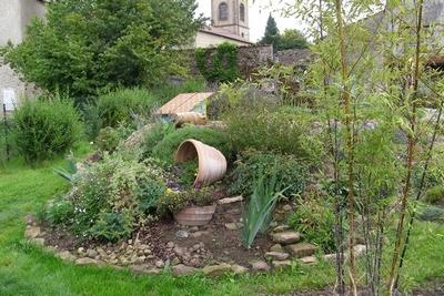 amenagement jardin butte