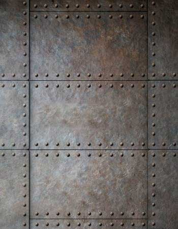 Plaques de métal industriel