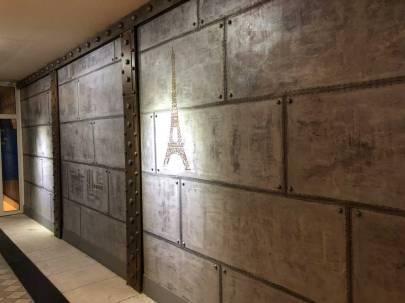 mur industriel + IPN de décoration de style industriel