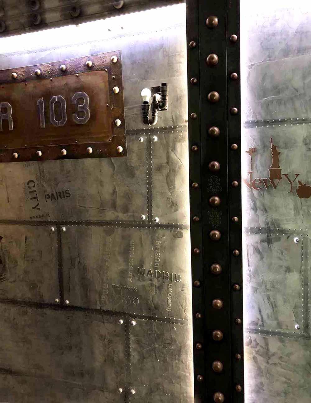 décoration bistrot style industriel paris