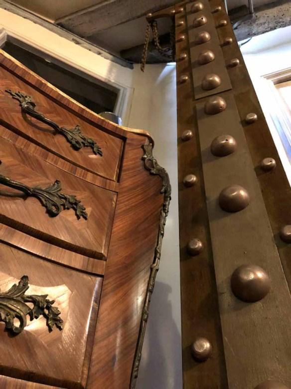 IPN style Eiffel boulonné cuivre et plaqué bronze