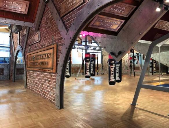 Salle de boxe customisée aux Pyramides de Port Marly