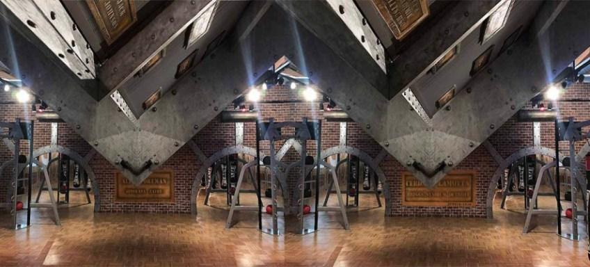 La décoration parties communes immeuble style industriel et style Eiffel