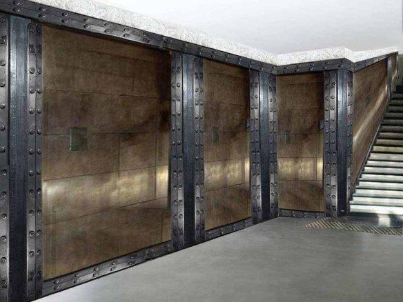 Murs industriels décoration restaurant