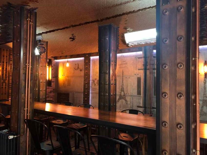 décoration restaurant et IPN style eiffel