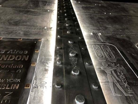 IPN style Eiffel sur mur métal design d'intérieur Paris