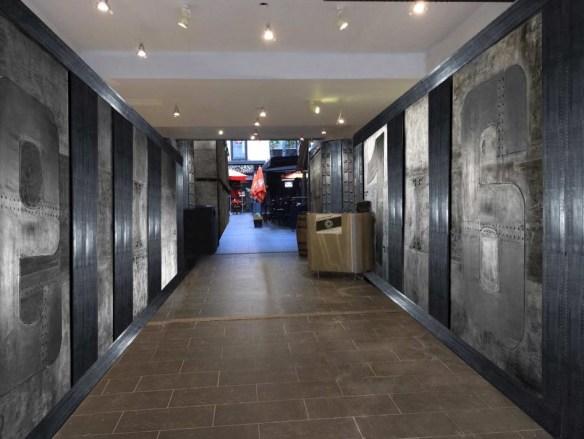 Décoration d'intérieur Paris  restaurant style industriel et IPN style Eiffel