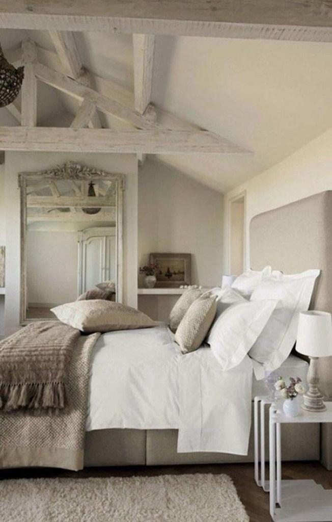 Décorateur style shabby chic chambre romantique