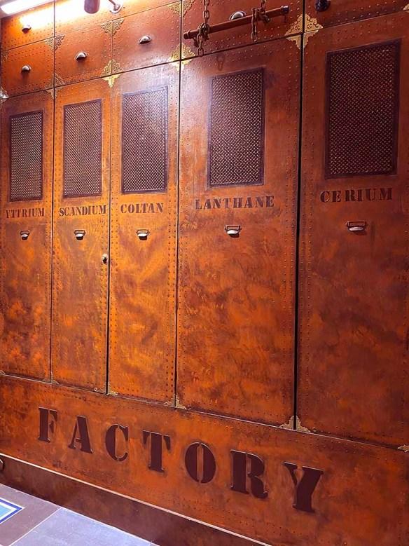 Décoration restauration rapide inspiration Louis Vuitton