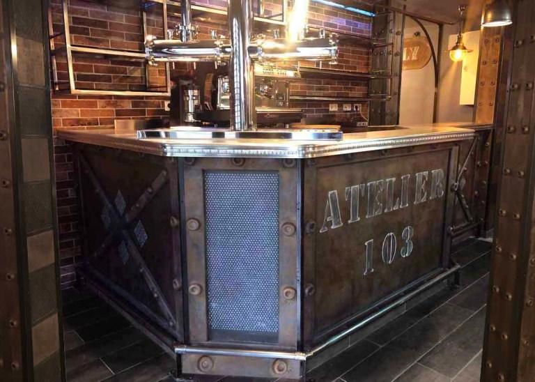 Décoration café bar