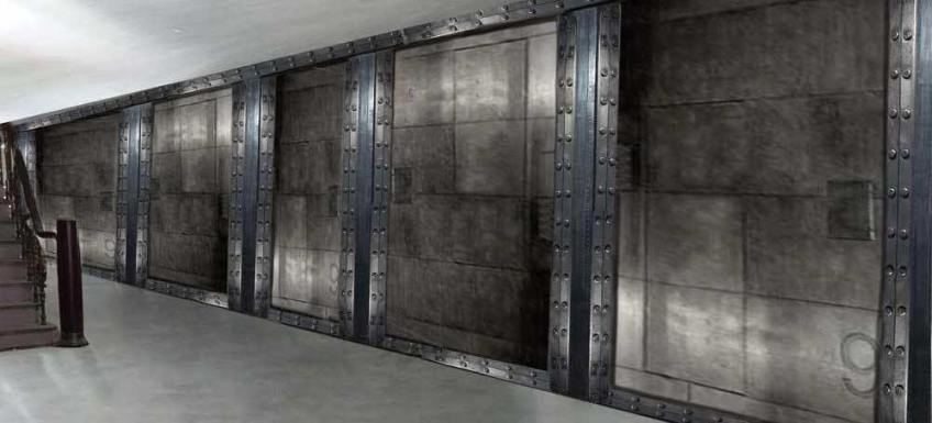Décoration bureaux style industriel et IPN style Eiffel