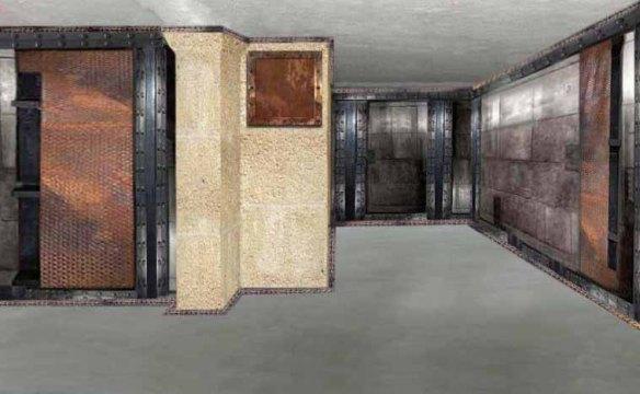 Décorateur sur BA13 murs métal style industriel et IPN style Eiffel