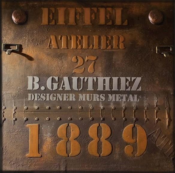 Peinture sur BA13 murs métal et IPN style Eiffel