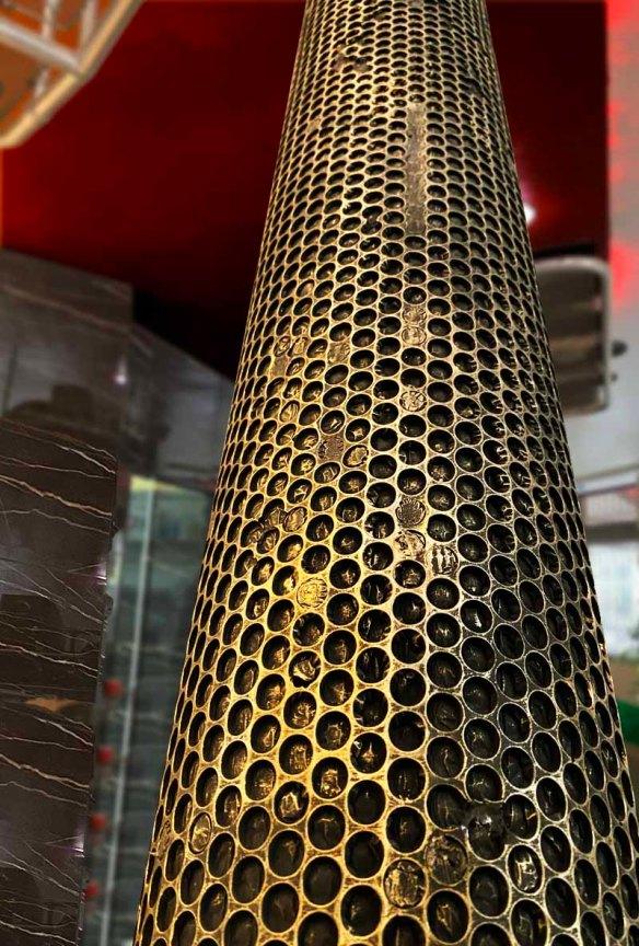 IPN fausse grille métal en nid d'abeille