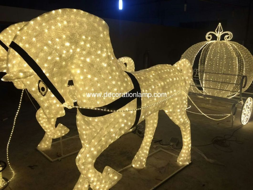Christmas Decorations Horse And Carriage