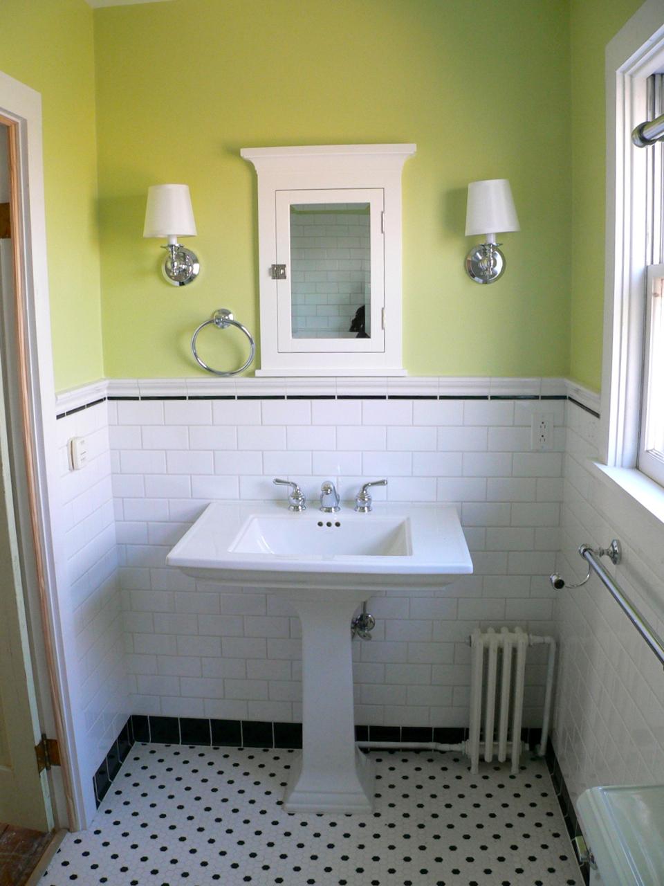 25 Farmhouse Bathroom Design Ideas - Decoration Love on Farmhouse Tile Bathroom Floor  id=69843