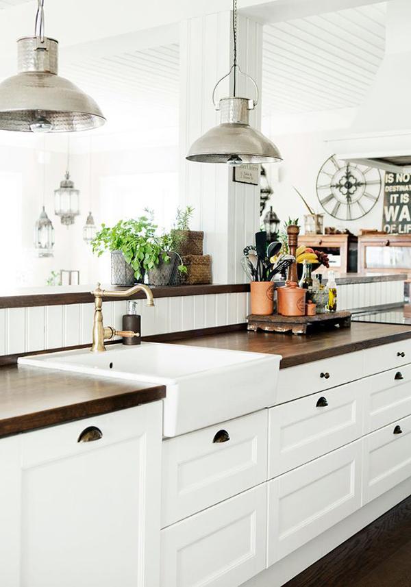 25 Farmhouse Kitchen Design Ideas - Decoration Love on Farmhouse Countertops  id=88095