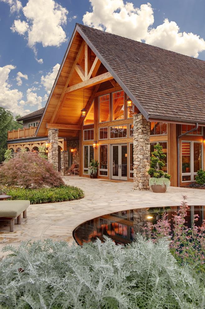 25 Amazing Rustic Exterior Design Ideas - Decoration Love on Siding Ideas  id=85941