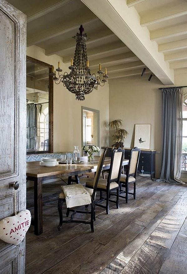 25 Farmhouse Dining Room Design Ideas - Decoration Love on Dining Room Curtains Farmhouse  id=28552