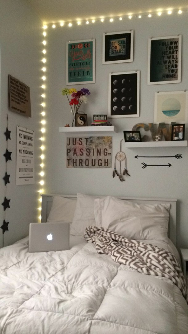 15 Beautiful Hipster Bedroom Design Ideas - Decoration Love on Room Decor Indie id=33527