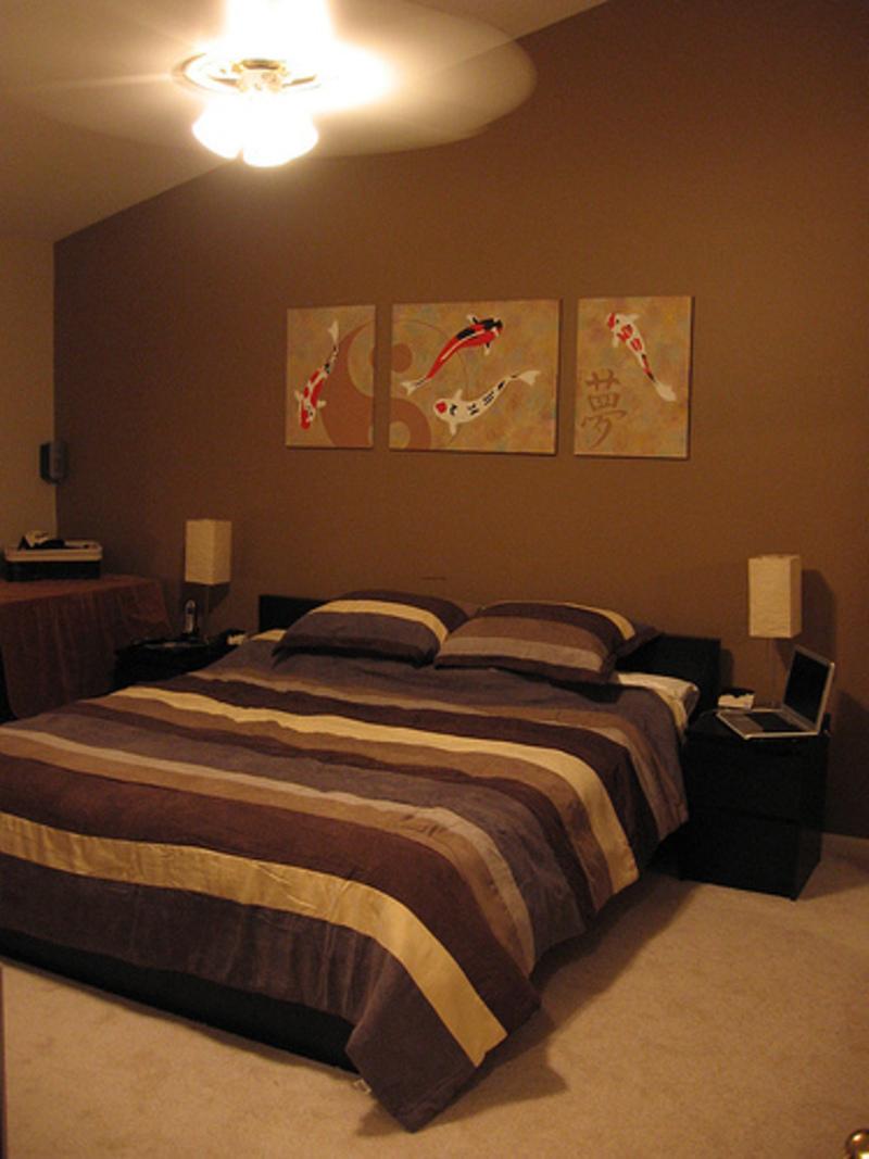 20 Attractive Brown Bedroom Design Ideas - Decoration Love on Minimalist:btlhhlwsf8I= Bedroom Design  id=18435