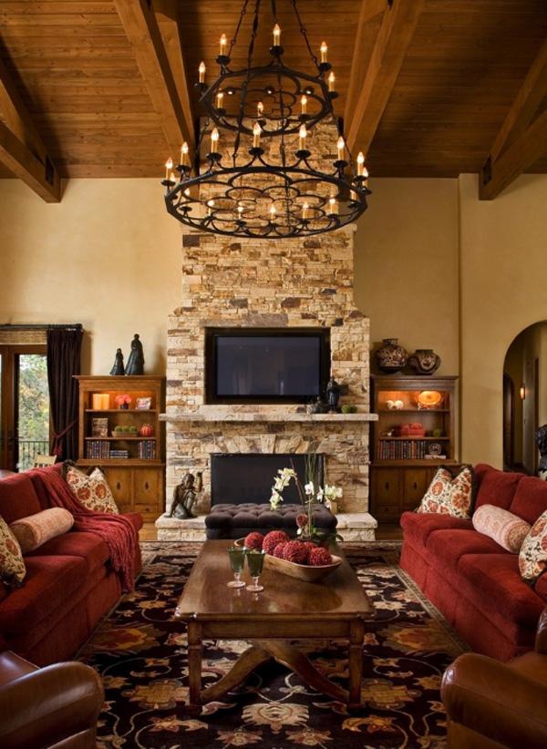 35 Gorgeous Rustic Living Room Design Ideas - Decoration Love on Living Room Style Ideas  id=60926