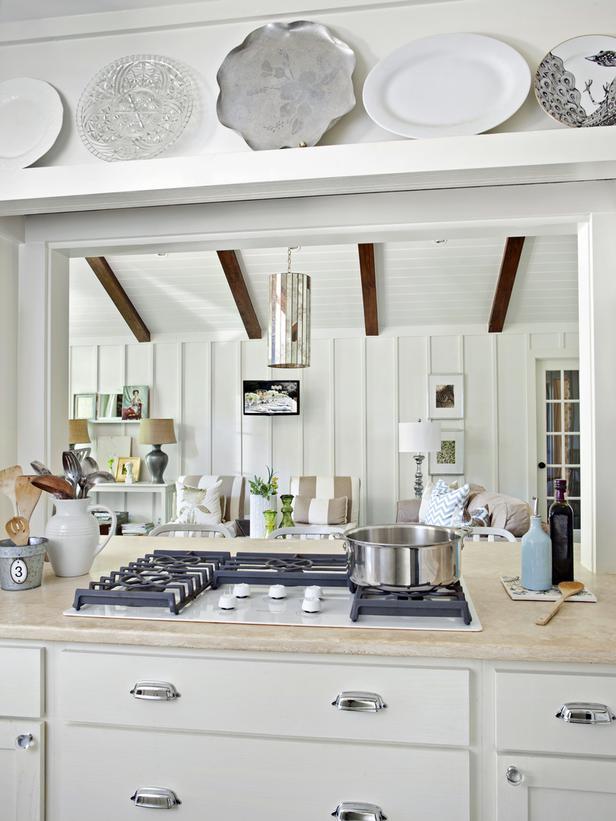 25 Beautiful Cottage Kitchen Design Ideas - Decoration Love on Farmhouse:-Xjylc6A2Ec= Rustic Kitchen  id=88271