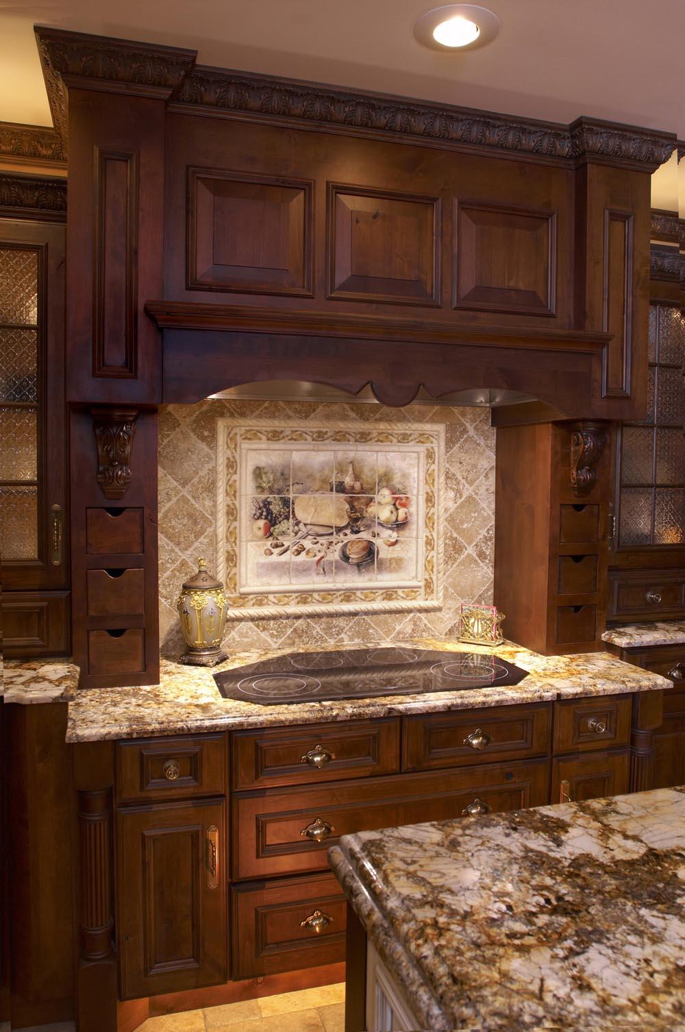 30 Amazing Kitchen Dark Cabinets Design Ideas - Decoration ... on Backsplash Ideas For Dark Cabinets  id=63046