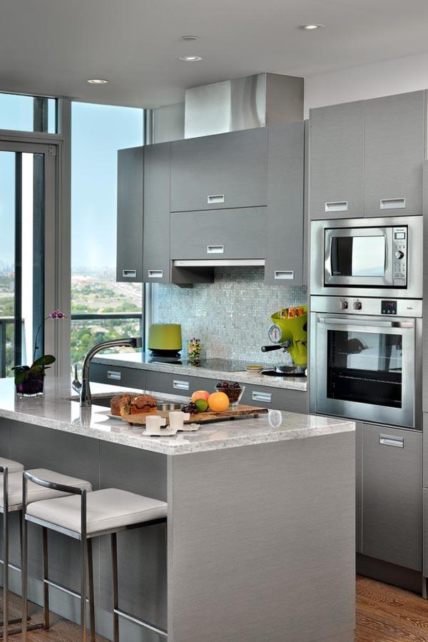 30 Gorgeous Small Kitchen Design Ideas - Decoration Love on Model Kitchen Ideas  id=63875