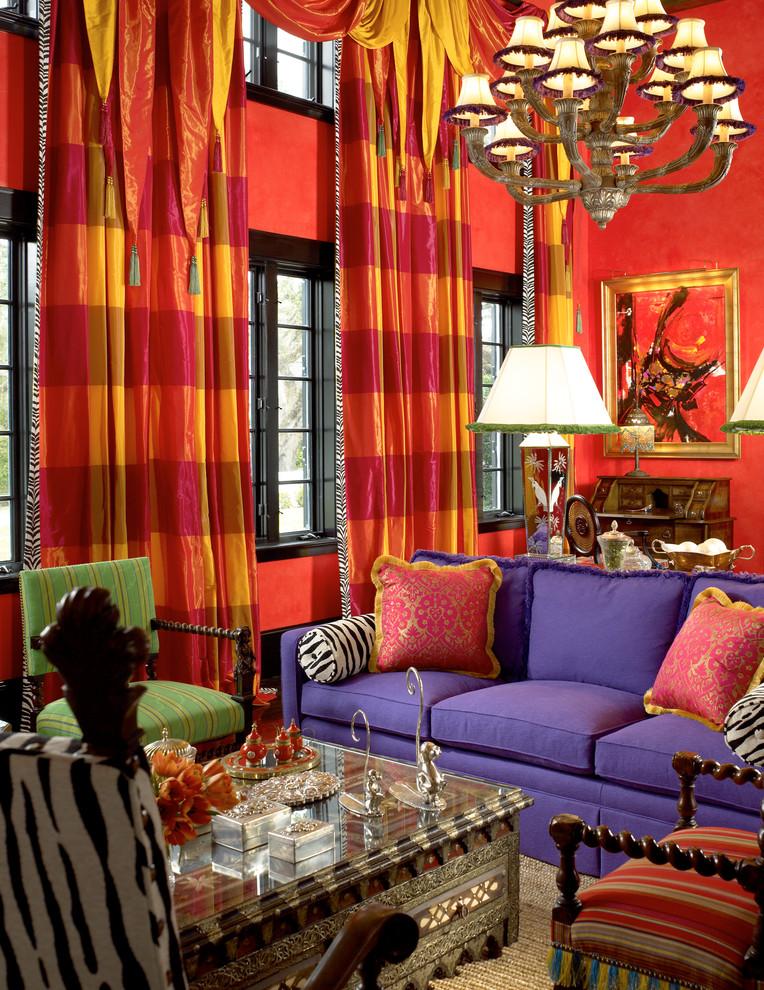 "25 Beautiful Red Living Room Design Ideas - Decoration Love on ""Room Decor""  id=35265"
