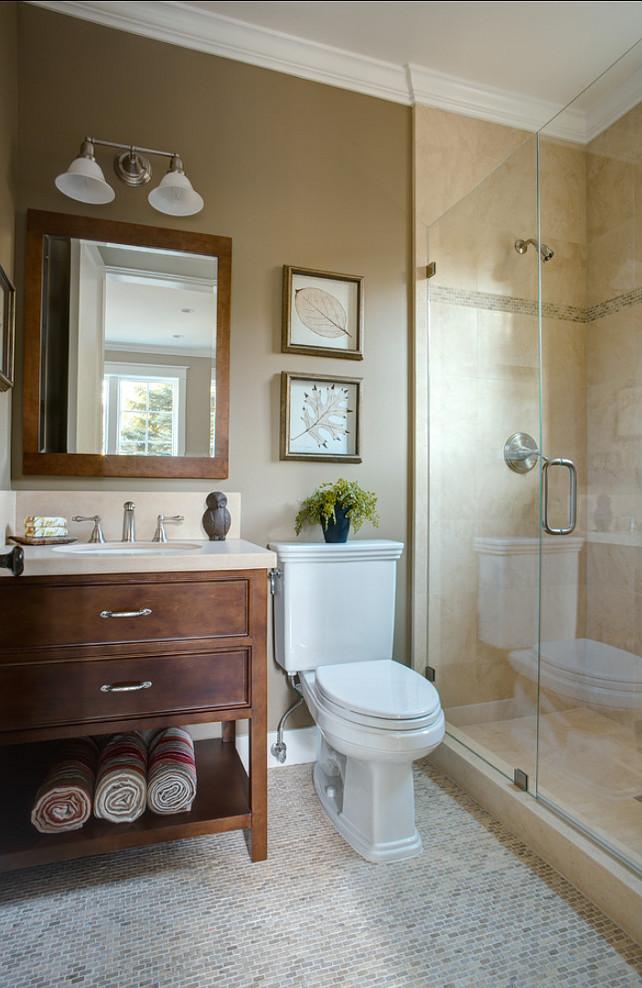 25 Beautiful Warm Bathroom Design Ideas - Decoration Love on Small Bathroom Remodel Ideas  id=66068